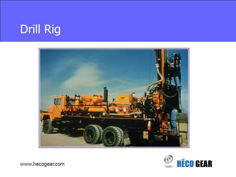 www.hecogear.com Drill Rig