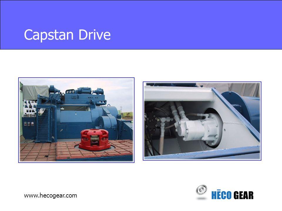 www.hecogear.com Capstan Drive