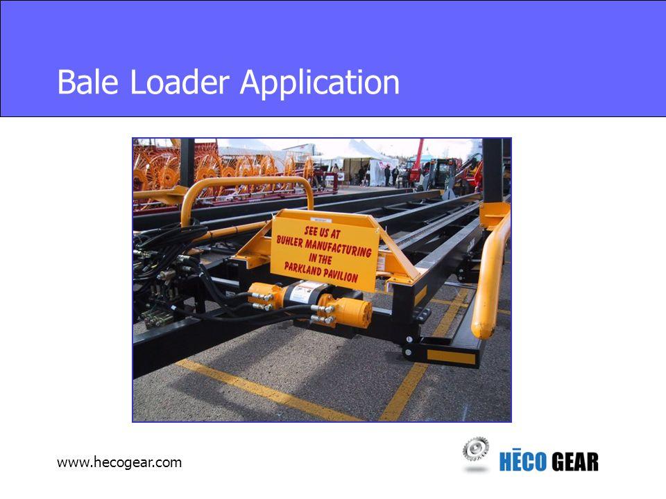 www.hecogear.com Bale Loader Application