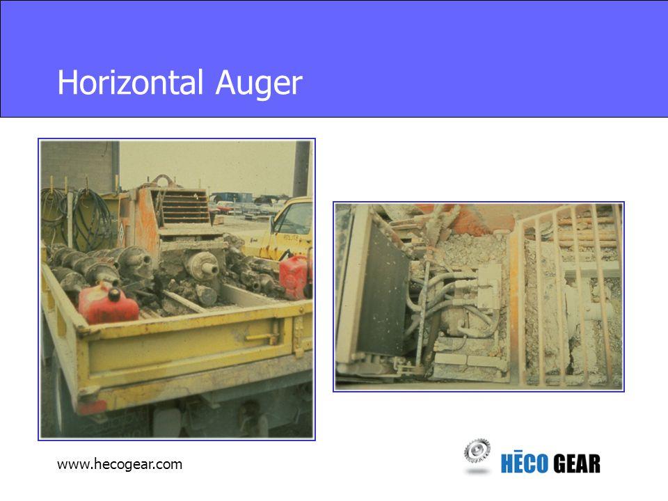 www.hecogear.com Horizontal Auger