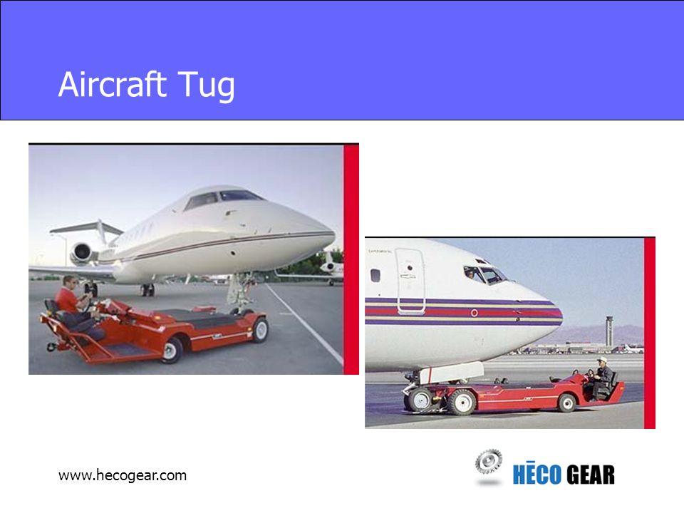 www.hecogear.com Aircraft Tug