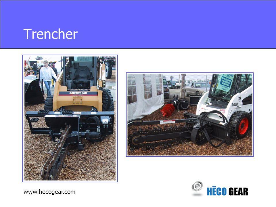 www.hecogear.com Trencher