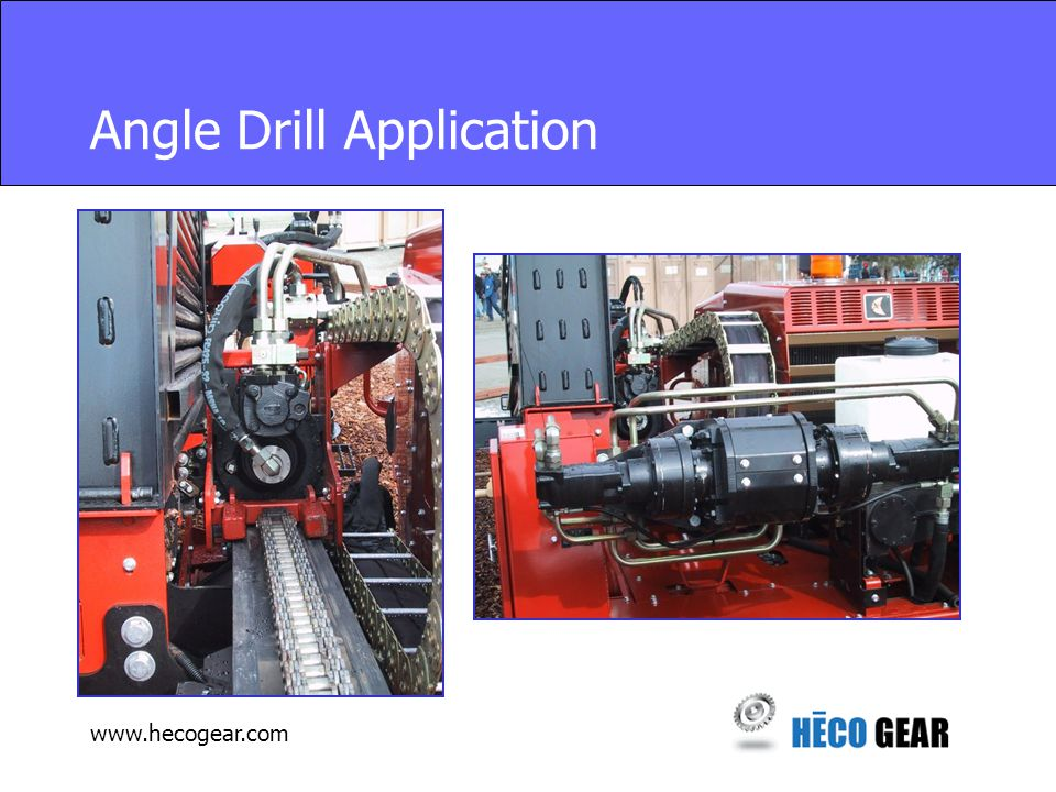 www.hecogear.com Harvestor Application Replacement for Spur Gearbox