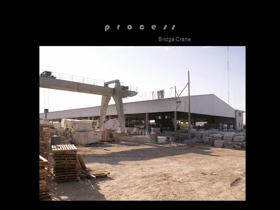 p r o c e s s Bridge Crane
