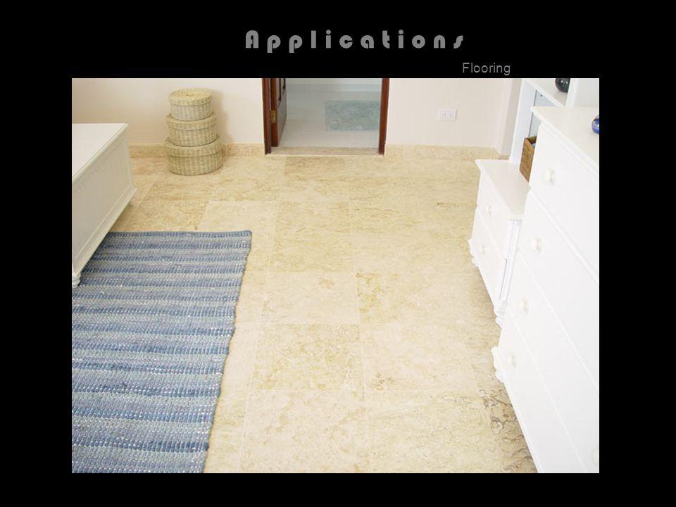 A p p l i c a t i o n s Flooring