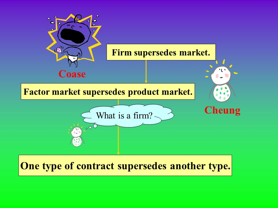 "It is futile to identify a ""firm"", or say anything about the size of the firm. Under the piece-rate contract, a worker joins factory (a firm), but is"