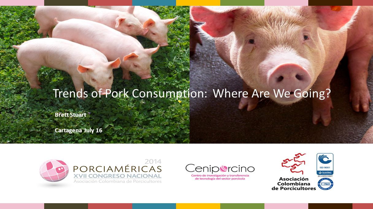 Trends of Pork Consumption: Where Are We Going? Brett Stuart Cartagena July 16