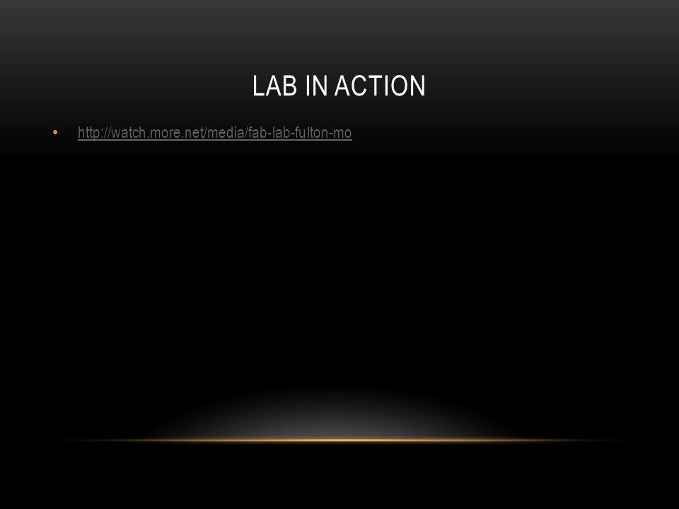 LAB IN ACTION http://watch.more.net/media/fab-lab-fulton-mo