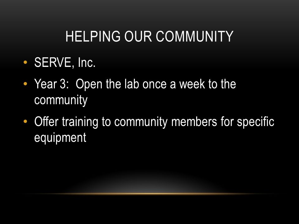 HELPING OUR COMMUNITY SERVE, Inc.