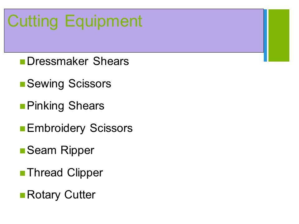 + Cutting Equipment Dressmaker Shears Sewing Scissors Pinking Shears Embroidery Scissors Seam Ripper Thread Clipper Rotary Cutter