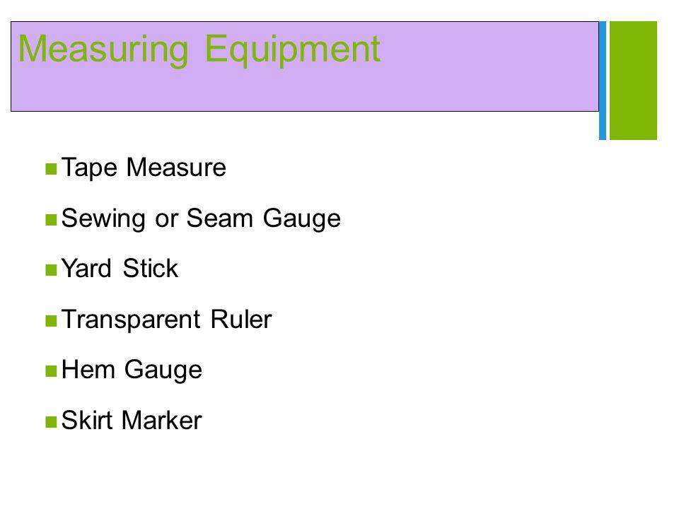 + Measuring Equipment Tape Measure Sewing or Seam Gauge Yard Stick Transparent Ruler Hem Gauge Skirt Marker