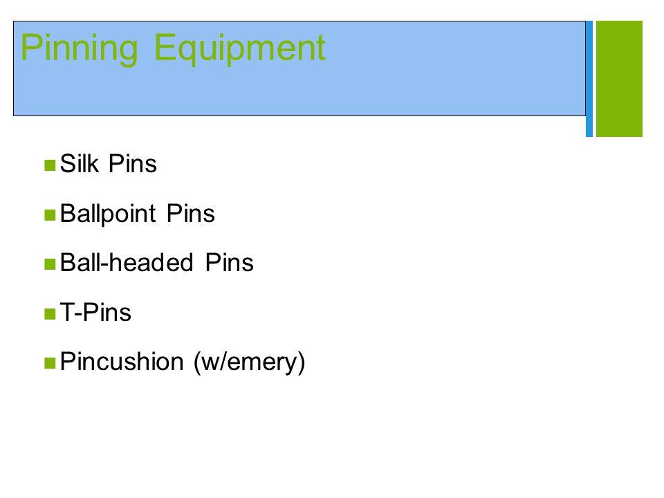 + Pinning Equipment Silk Pins Ballpoint Pins Ball-headed Pins T-Pins Pincushion (w/emery)