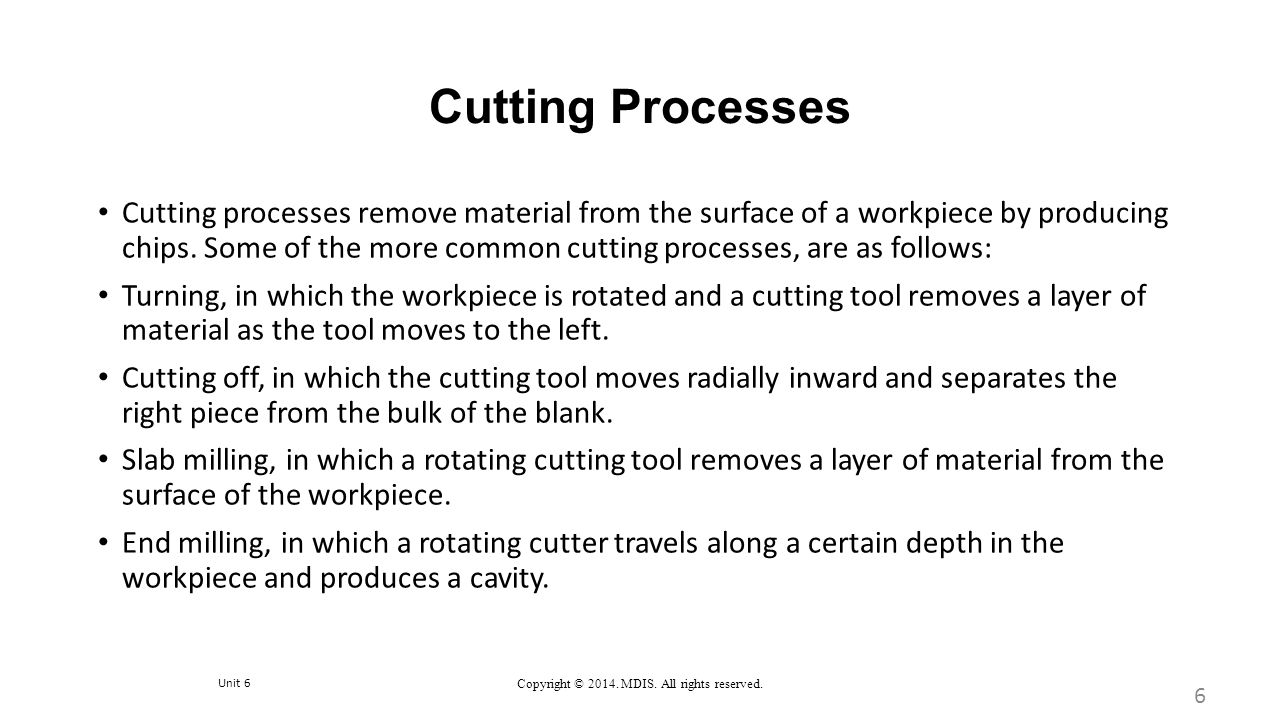 Machining Processes: Milling, Broaching, Sawing, Filing, and Gear Manufacturing 37