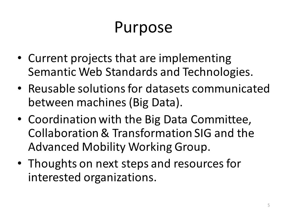Big Data Committee Knowledge Capture and Work Force Training (GMU) 26 http://semanticommunity.info/Emerging_Technology_SIG_Big_Data_Committee http://semanticommunity.info/A_Spotfire_Gallery/Spotfire_Learning_Network MY COMMENT: This uses Semantic Technologies for: Well-defined Web Addresses Searching, and Linking