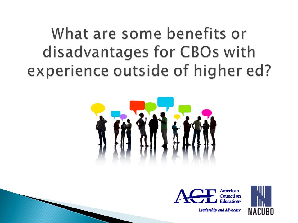 CBO roles and responsibilities