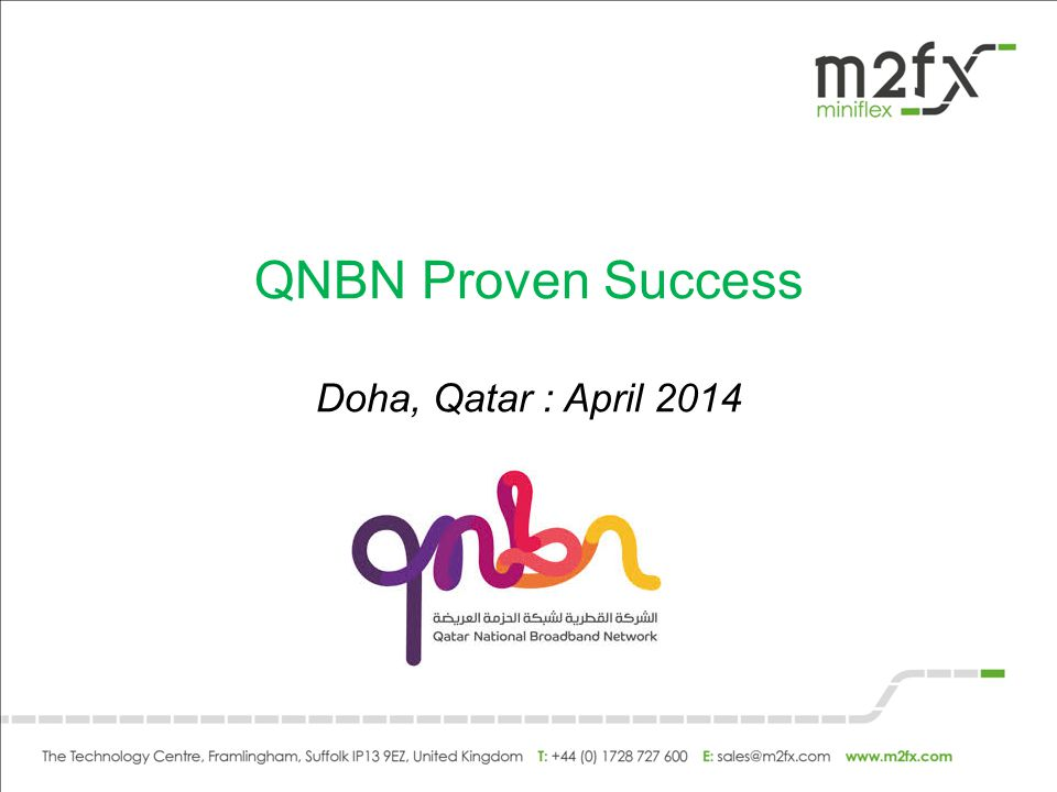 QNBN Proven Success Doha, Qatar : April 2014