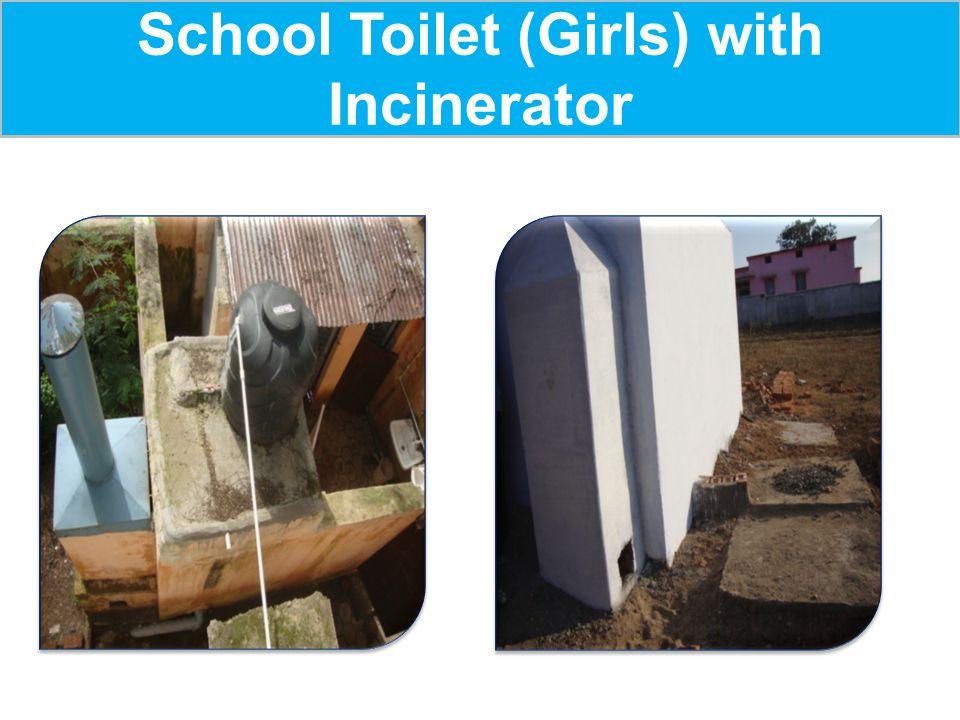 School Toilet (Girls) with Incinerator