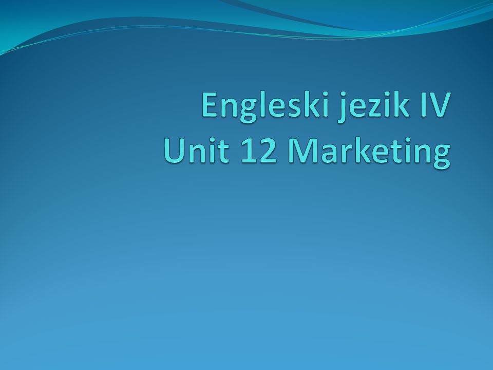 The Product Life Cycle – rešenje Sales: 2,3,4,1 Costs: 1,2,3,4 Proces: 4,1,2,3 Promotion: 3,1,4,2