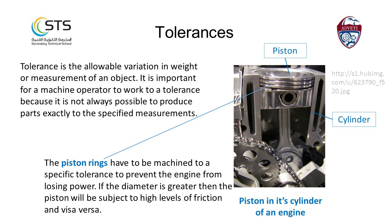 Tolerance is the allowable variation in weight or measurement of an object. It is important for a machine operator to work to a tolerance because it i