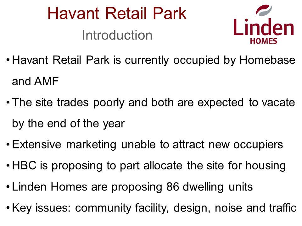 Havant Retail Park Site Surroundings