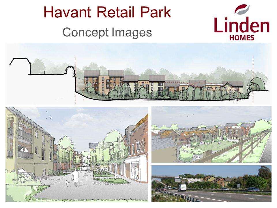 Havant Retail Park Concept Images