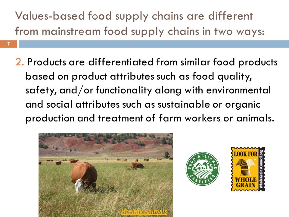 Challenges for mid-tier value chains 18  Finding appropriate values-based chain partners and developing mechanisms for trust, transparency and decision-making  Determining effective strategies for product differentiation, branding and regional identity  Developing food quality control systems that address weather, seasonality, multiple production sites and quality-preserving distribution mechanisms