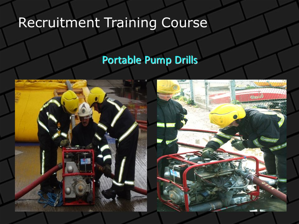 464 Ladder Drill Recruitment Training Course
