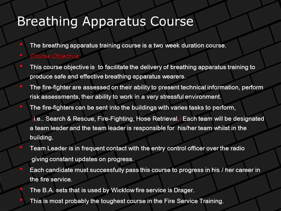 Portable Pump Drills Recruitment Training Course