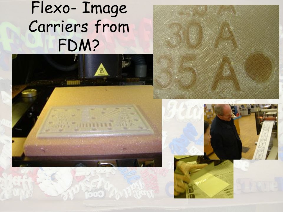 Flexo- Image Carriers from FDM