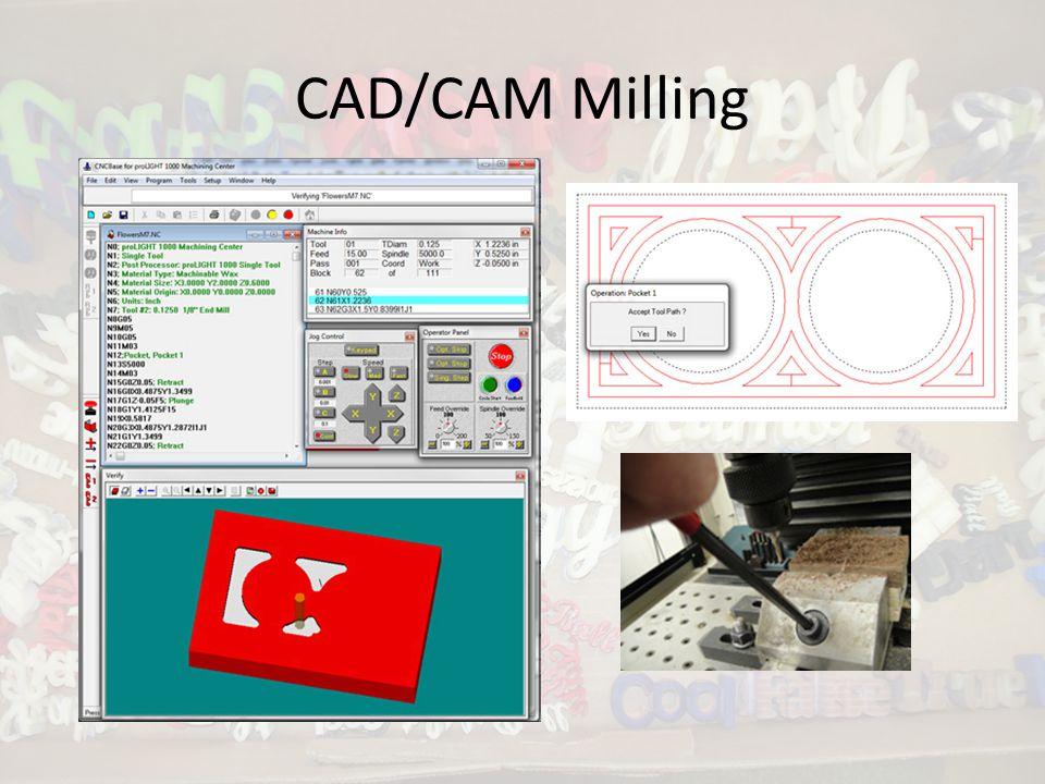 CAD/CAM Milling
