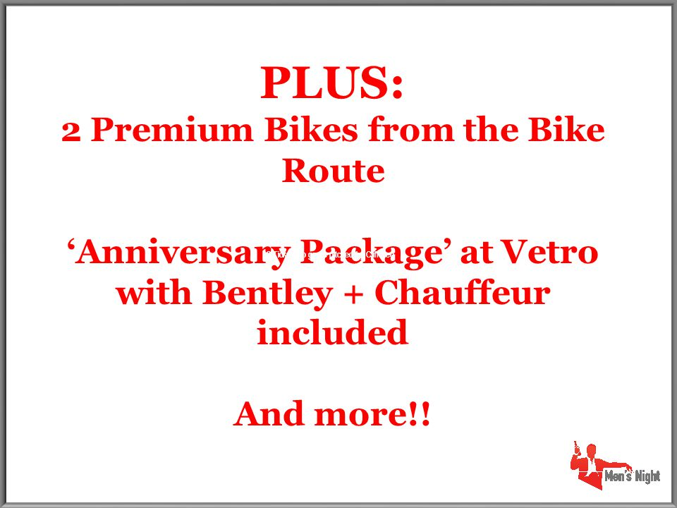 2 Tickets to game pitched by Cliff Lee PLUS: 2 Premium Bikes from the Bike Route 'Anniversary Package' at Vetro with Bentley + Chauffeur included And more!.