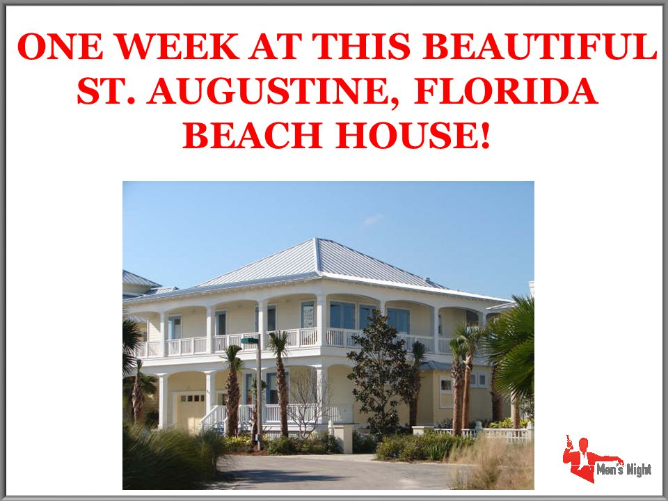 ONE WEEK AT THIS BEAUTIFUL ST. AUGUSTINE, FLORIDA BEACH HOUSE!