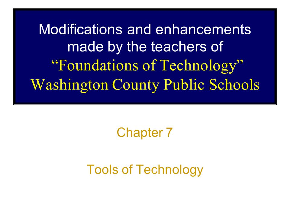 Day 1 Read Pages 126 - 139 Tools of Technology Chapter 7