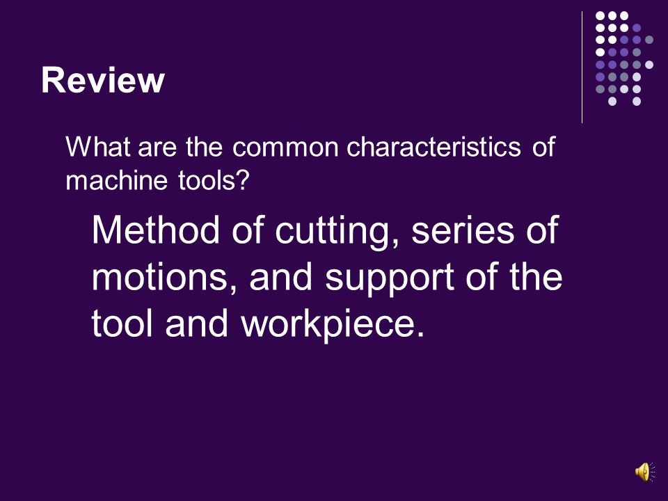 Review What are the categories of production tools used in technology.