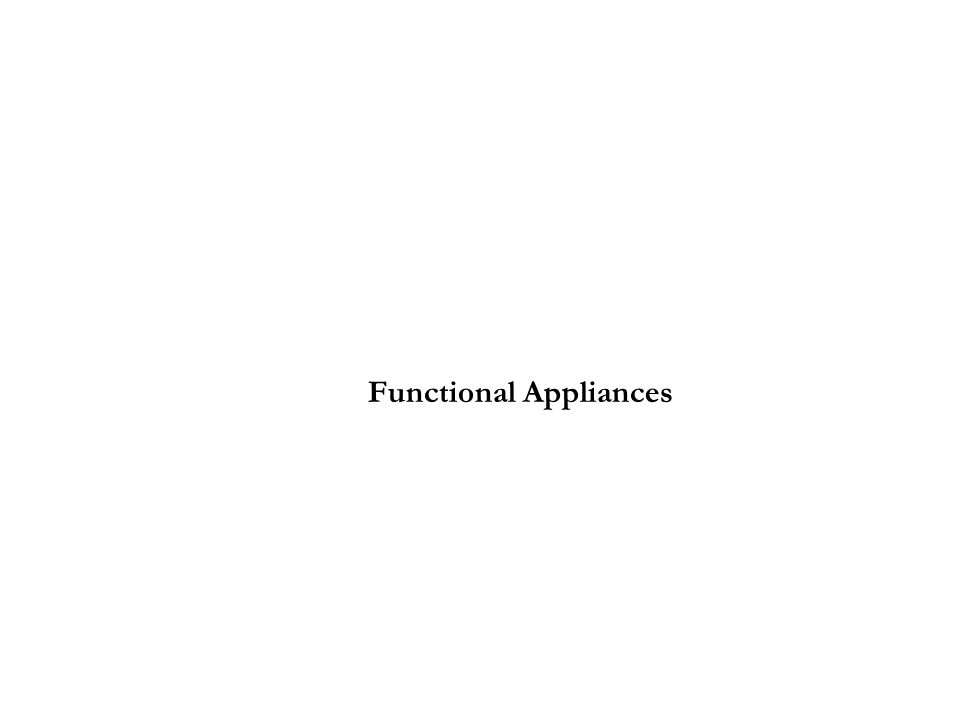 Functional Appliances