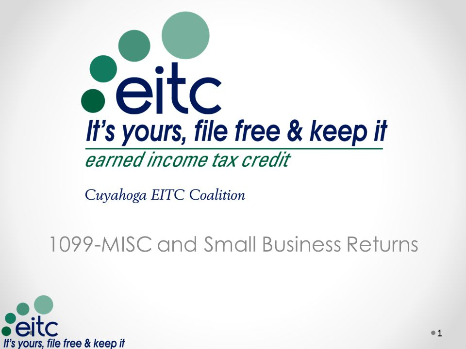 1099-MISC and Small Business Returns 1