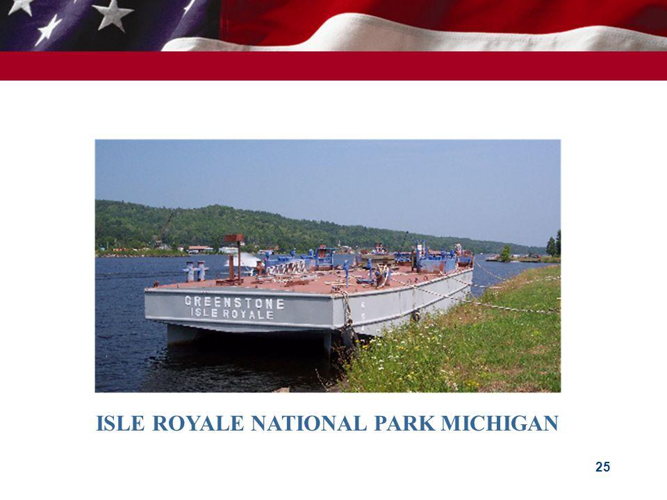 25 ISLE ROYALE NATIONAL PARK MICHIGAN