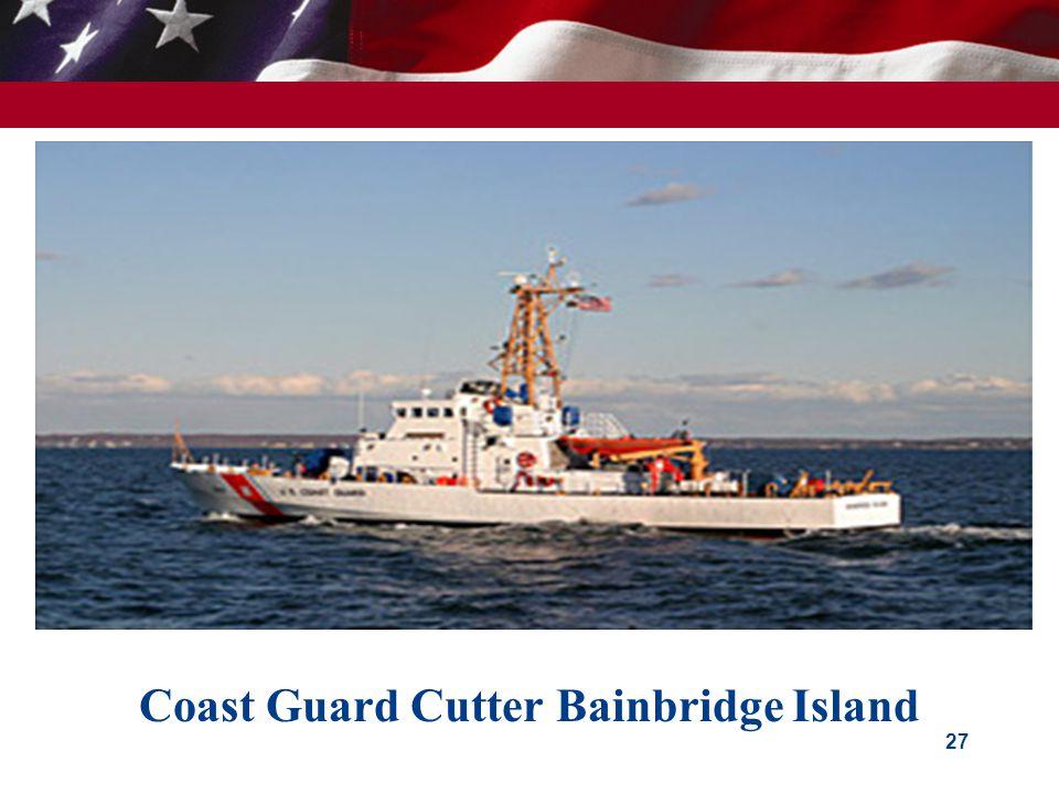 Coast Guard Cutter Bainbridge Island 27
