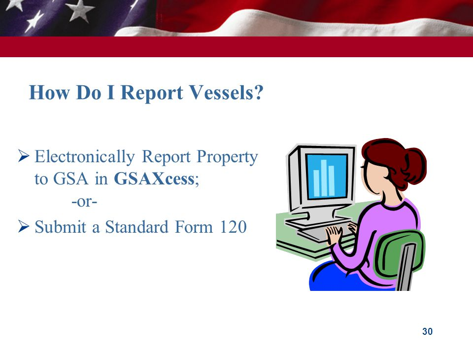 How Do I Report Vessels.