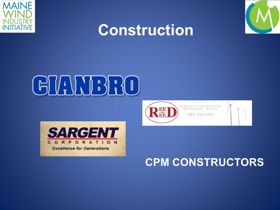 Construction CPM CONSTRUCTORS