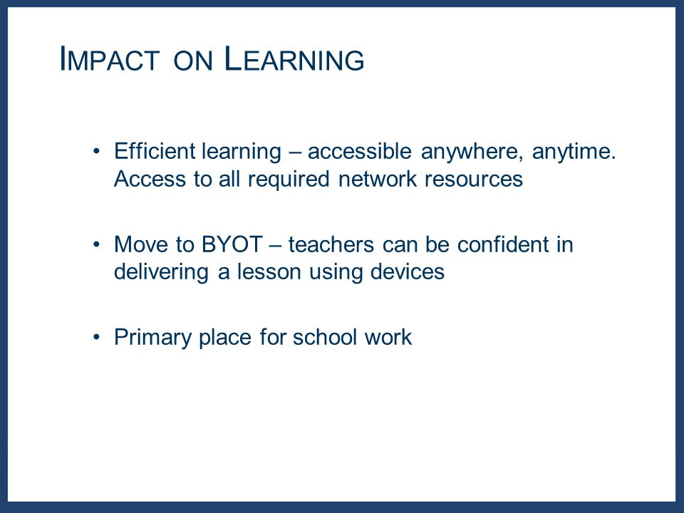 Efficient learning – accessible anywhere, anytime.
