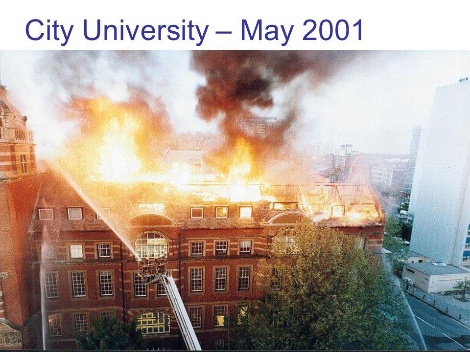 36 City University – May 2001