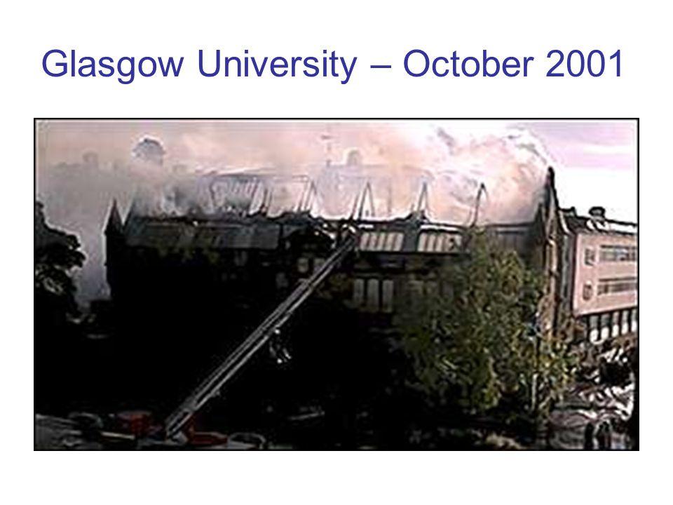 Glasgow University – October 2001