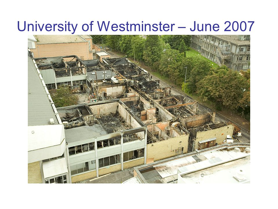 University of Westminster – June 2007