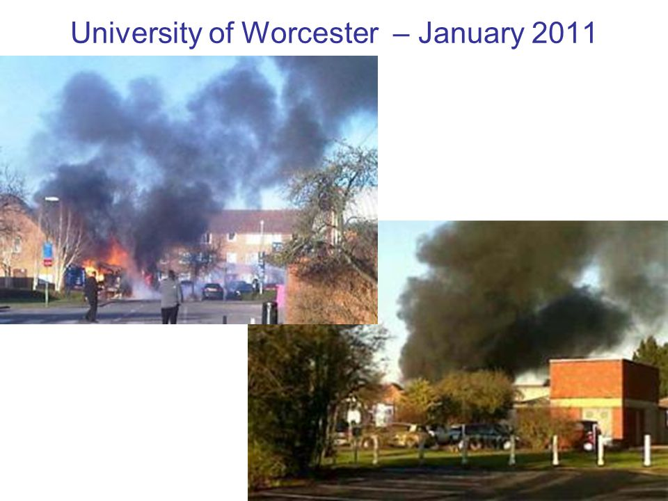 University of Worcester – January 2011