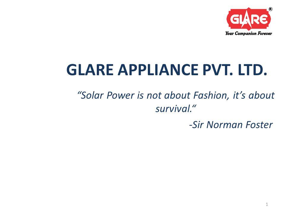GLARE APPLIANCE PVT. LTD.