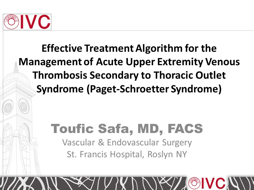 Try NOT to STENT the Subclavian Venous Stenosis