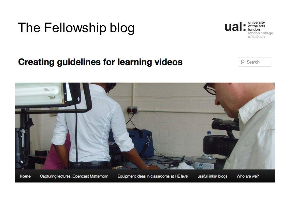 The Fellowship blog