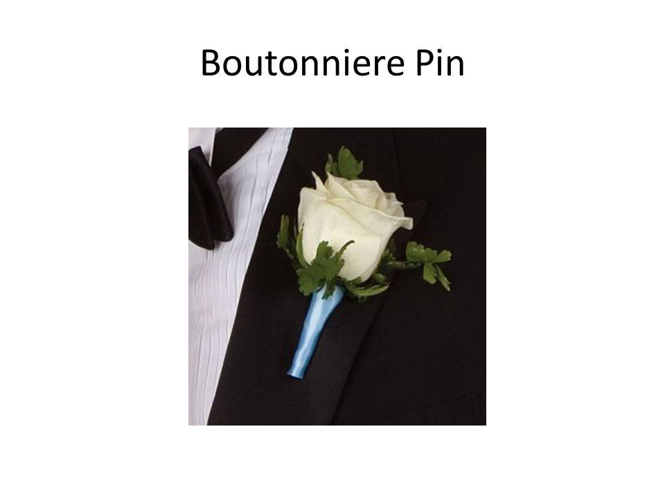 Boutonniere Pin