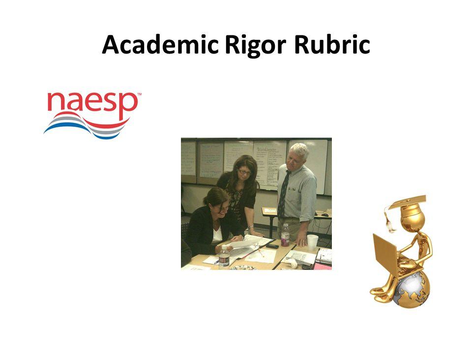 Academic Rigor Rubric